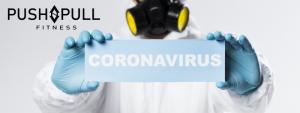 Corona virus update: sportschool gesloten!